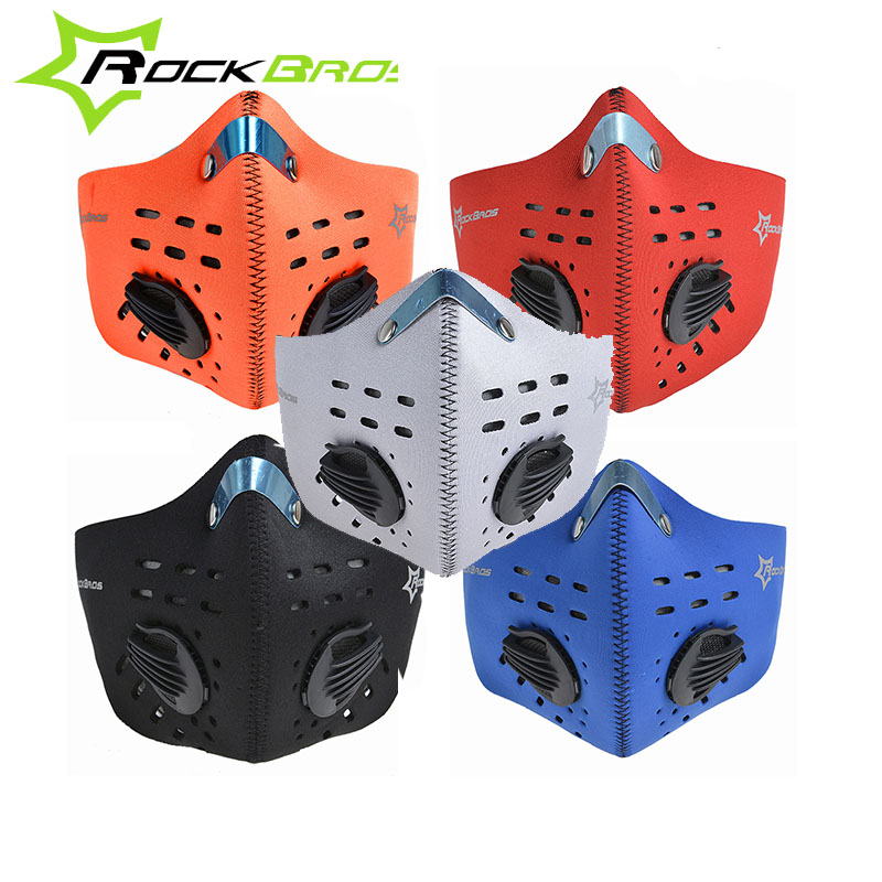 ROCKBROS Cycling Face Mask Neoprene Face Shield Exercise Mask Anti-fog Dust-proof Bike/B ...