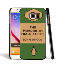 07154 penguin murders praed street cell phone case cover for Samsung Galaxy S7 edge PLUS S6 S5 S4 S3 MINI