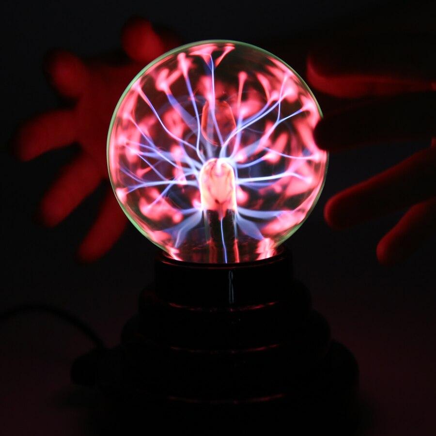 Mágica Bola de plasma USB AntiStress trucos gadget fantasía soecery bola Juguetes para niños Halloween schocker regalo divertido