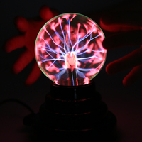 Magic USB Plasma Ball Antistress Tricks Gadget Fantasy Soecery Ball Toys For Children Halloween Schocker Funny