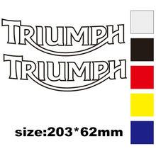Светоотражающая наклейка на шлем декоративная наклейка для мотоцикла подходит для triumph