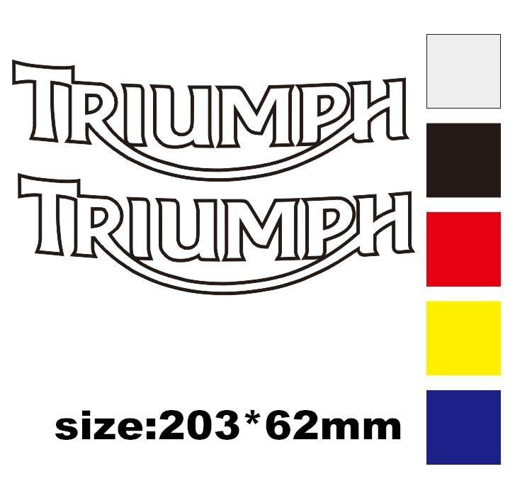 Reflective Sticker Helmet Decorative Motorcycle Sticker  Fit For  Triumph