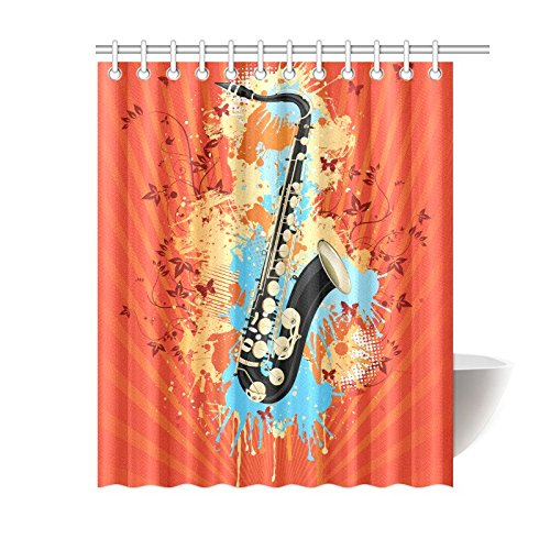 NANAZ Custom Music Note Bathroom Waterproof Fabric Shower Curtain In Curtains From Home Garden On Aliexpress