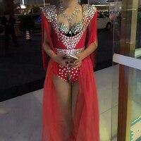 Настроить Сексуальная певица DJ этап комплект из 3 предметов Комплект одежды клуб Полюс Танцы одежда для вечеринки джаз танец костюм Одежда