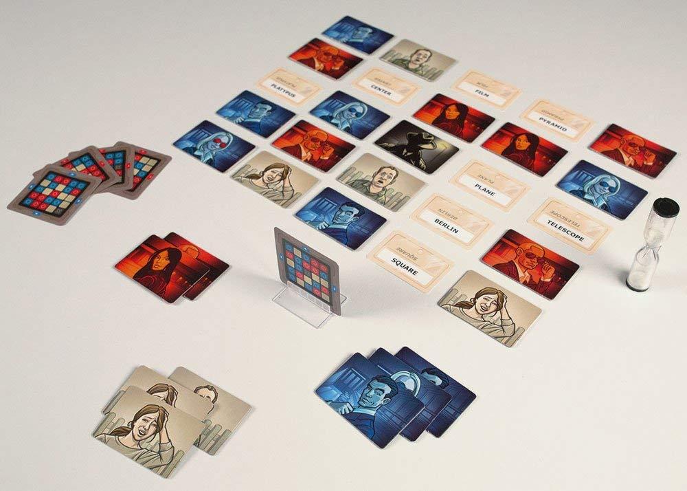 Ação confidencial codenames jogo de tabuleiro família amigo festa jogo de cartas