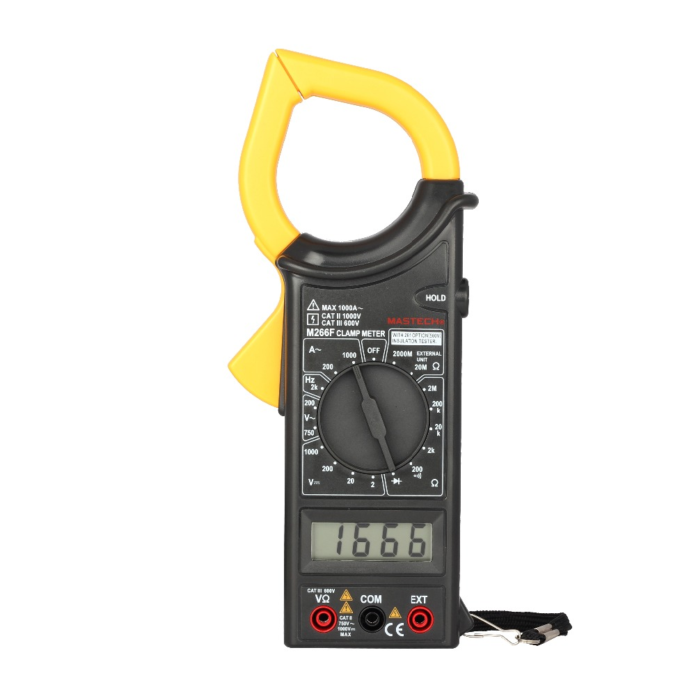 Gm Instruments Digital Clamp Meter : Mastech m f digital clamp meter ammeter voltmeter