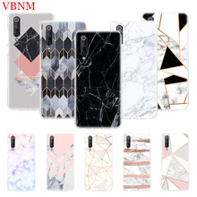 Marble Grain Simplicity Patterned Phone Case For Xiaomi Mi 5S Plus 5X 6X 8 9 SE Lite F1 Play Mix 3 Art Customized Cases