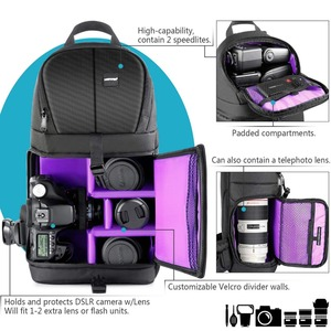 Image 4 - Neewer Professional Sling Camera Storage Bag Durable Waterproof and Tear Proof Black Carrying Backpack Case for DSLR Camera