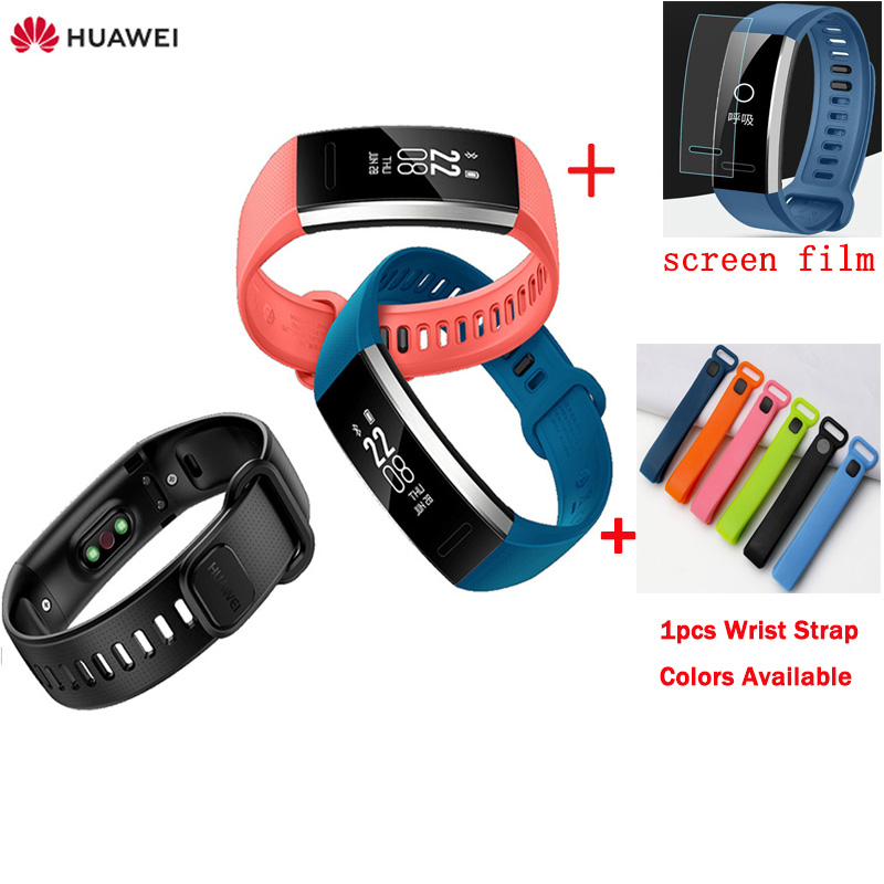 Original Huawei Sport Band 2 pro B29 B19 with GPS for Swimming Wristband Heart Rate Monitoring