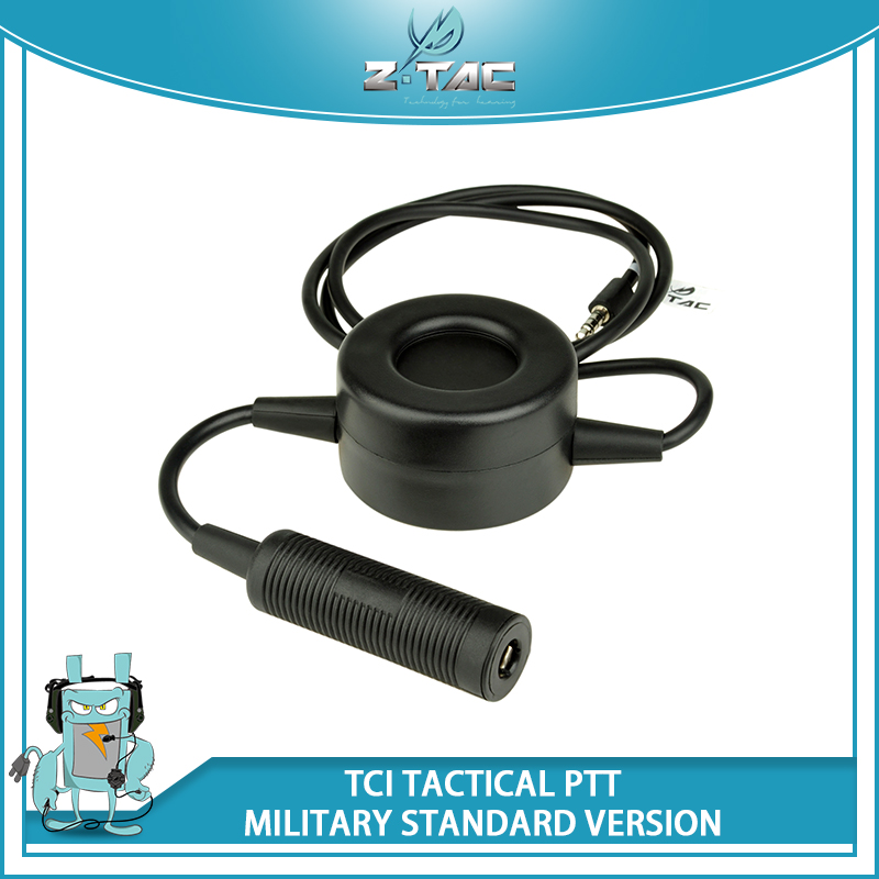 Z-Tactical Waterproof PTT Comtac II He50 zSORDIN HD03 Headset for Motolora Talkabout/ 2-way/Kenwood/ICOM/Midland Radio Z114