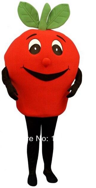 Талисман красный Apple талисмана обычай Необычные костюмы аниме косплей комплекты Mascotte Необычные платье карнавальный костюм