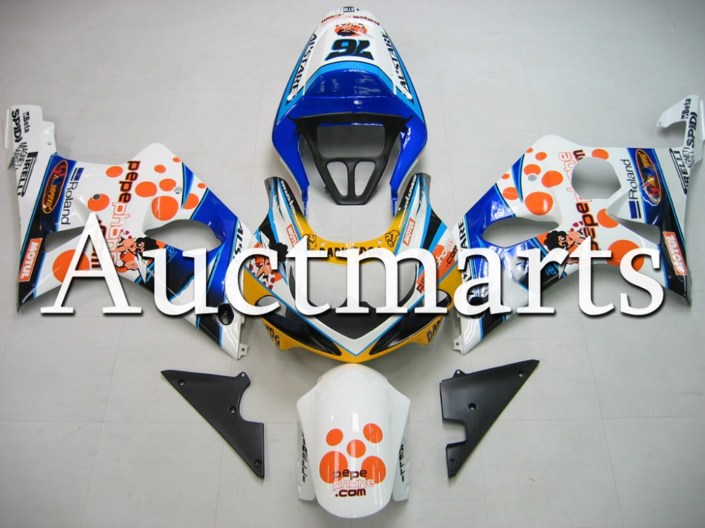For Suzuki GSX-R 1000 2000 2001 2002 ABS Plastic motorcycle Fairing Kit Bodywork GSXR1000 00 01 02 GSXR 1000 GSX 1000R K2 CB09