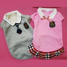 Cute School Style Pet Outfit