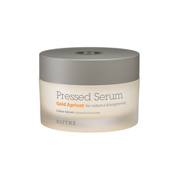 BLITHE Pressed Serum Gold Apricot 50ml Face Cream Brightening Facial Serum With 31% Apricot Extract Prevents Freckles and Dark фото