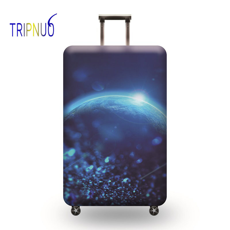TRIPNUO Universe Suitcase Elastic Protective Cover Luggage Cover Travel Accessories 18 To 32 Inch Travel Trolley Dustproof Cover