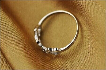 Modian 100% Echtem 925 Sterling Silber Rose Gold Farbe Ring Mode Herzen Liebe Zirkon Finger Ringe Für Frauen Hochzeit Schmuck Schmuck & Zubehör