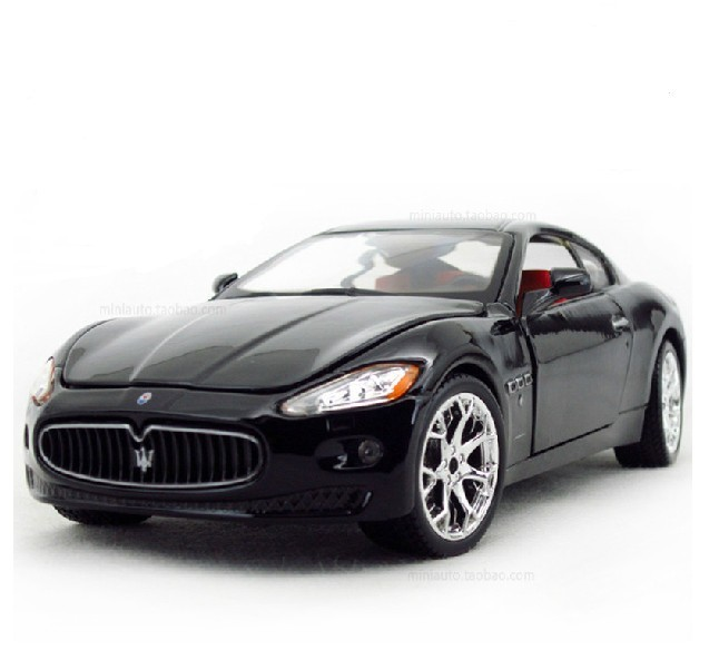 Bburago car model gt alloy car models black
