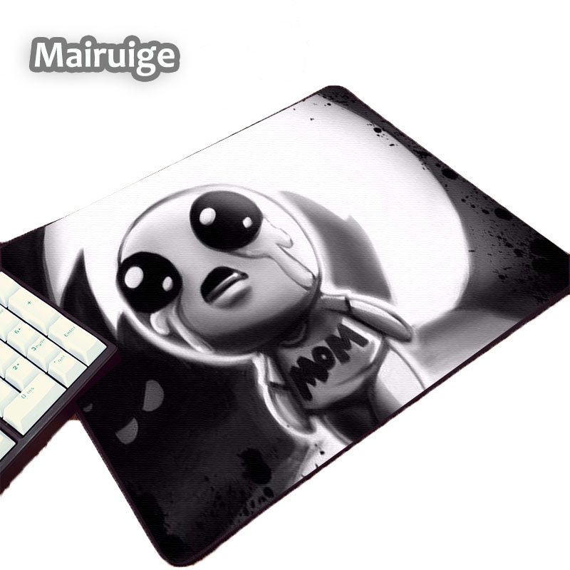 Mairuige Video Game The Binding of Isaac Funny Popular Mouse Pad for Game Gamer Player M ...