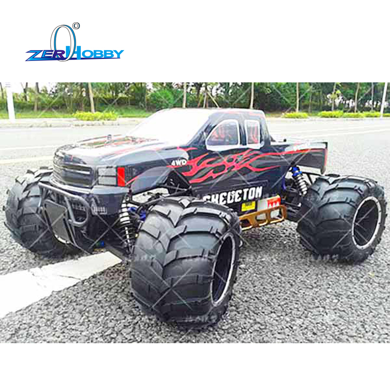 HIGH QUALITY AND BEST PRICING HSP RACING RC CAR 1/5 SCALE SKELETON 94050 GASOLINE POWER RTR MONSTER TRUCK 30CC ENGINE HIGH SPEED rc car hsp skeleton 1 5 gas truck 4wd off road monster 30cc engine item no 94050