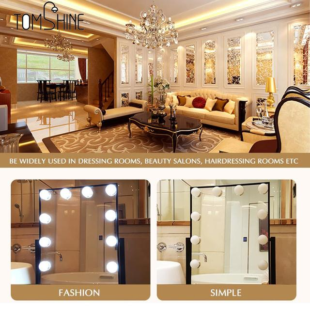 Vanity mirror led light touch control diy comestic make up lamp vanity mirror led light touch control diy comestic make up lamp dimmable brightness adjustable for dressing mozeypictures Choice Image