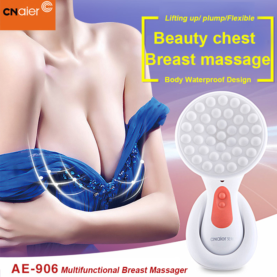Electric Breast Massager Breast Firming Enhancement Acupuncture Points Massage Must Up Bigger Boob Firming Lifting Beauty device breast light detection device for the breast cancer self check up and breast clinical examination