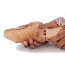 Wooden Shoe Stretcher Tree Shaped Rack, Wood Adjustable Flats Pumps Boots Expander Multi Size Home Storage