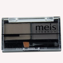 Hot Sale Professional Eye Shadow Brow Makeup 4 Color Eyebrow Powder + Wax Palette Brush MS0234F MEIS