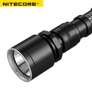 Image 5 - NITECORE MH25GT su geçirmez 1000LM taktik CREE XP L HI V3 LED ışık lamba el feneri torch + 18650 pil + kılıf + USB kablosu
