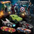 Small car hot hot wheels anime Movie series The Avengers Hot wheels car Five car models boys toy car High-quality