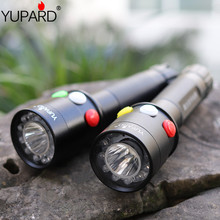 YUPARD High Quality Ultra Bright Q5 led Red Green Yellow White 7 Mode Flashlight Railway Signal Light outdoor sport camping