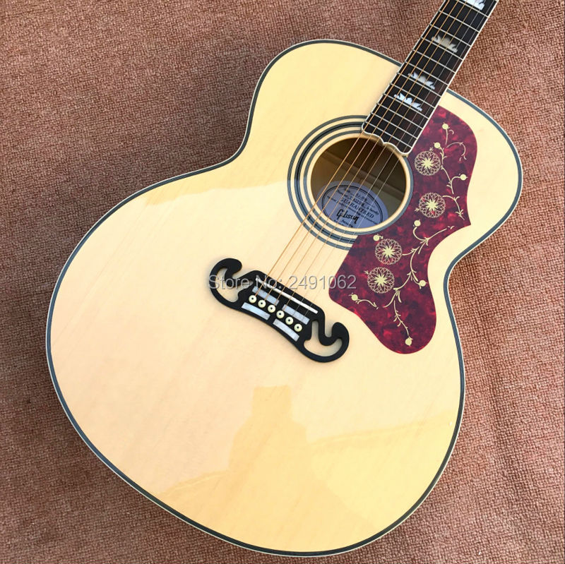 All kinds of guitar manufacturers can Maple 43 inch tiger J200 single font b board b