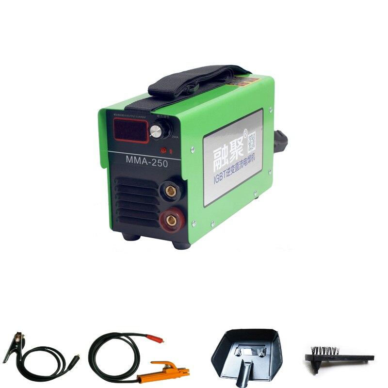 220V MMA 250/200 160A Portable household Electric Welding Machine Mini Inverter DC Arc Welder Meet CE ROSH