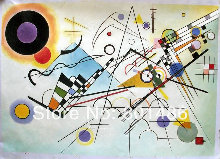 Buy hand painted wall art abstract modern for Blank canvas designs wall art