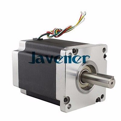 HSTM110 Stepping Motor DC Two-Phase Angle 1.8/8A/201mm/4 Wires/Single Shaft jhstm57 stepping motor dc 2 phase angle 1 8 3 2v 4 wires single shaft ratio 10