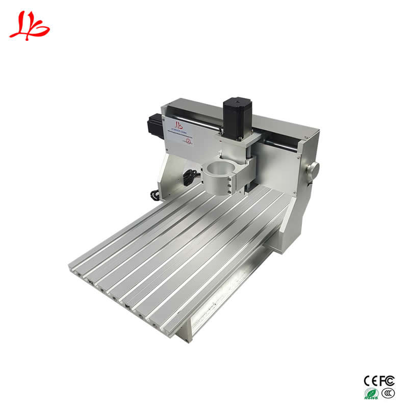 CNC wood router mach3 control 6040 cnc engraving milling machine aluminum lathe table aluminum lathe body cnc 6040 router 1605 ball screw cnc frame kit diy cnc engraving machine