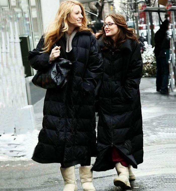 Новинка 2018, брендовая зимняя куртка, Женское пальто на утином пуху, длинная теплая парка макси для женщин, Повседневная Свободная Стильная ч