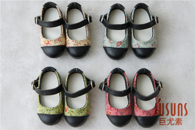 JS086 1/6 BJD Doll shoes  YOSD BJD shoes  6-7inch Lovely Pu shoe uncle 1 3 1 4 1 6 doll accessories for bjd sd bjd eyelashes for doll 1 pair tx 03