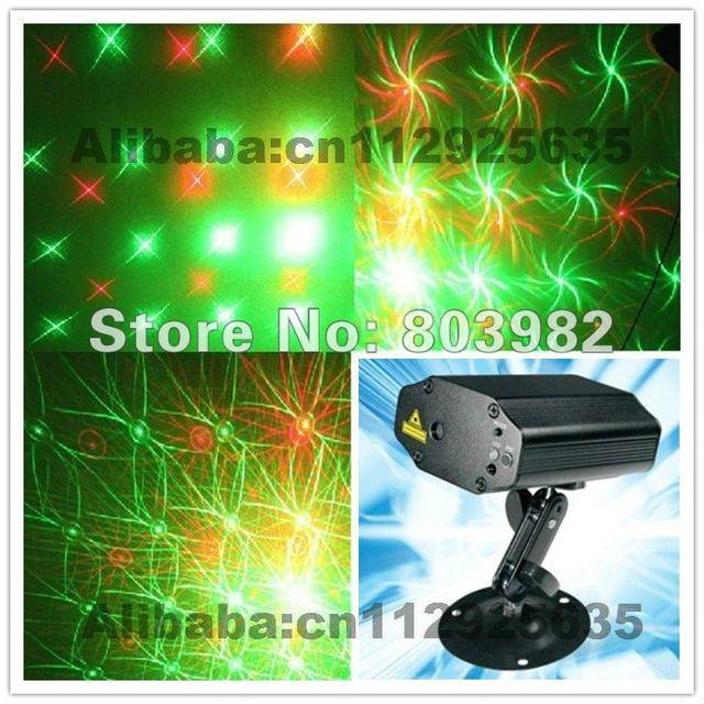 Quality Club lighting Mini LASER light 9-effects 2W(220V) energy-saving(CE&Rosh) disco laser light