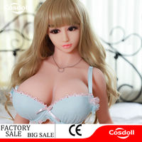 Cosdoll Factory 136cm Full Size Lovely Silicone Sex Dolls with Metal Skeleton, Japanese Sex Doll Vagina Sexy Dolls For Men Oral
