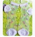 Vidro rosa princesa Lolita meias curtas meias cristal Verão fresco meias finas cor de doces Bonito cereja meias lindo doce jovem menina