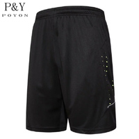 New Summer Quick Dry Men S Sports Shorts Elastic Waist Men Running Shorts With Zipper Pocket