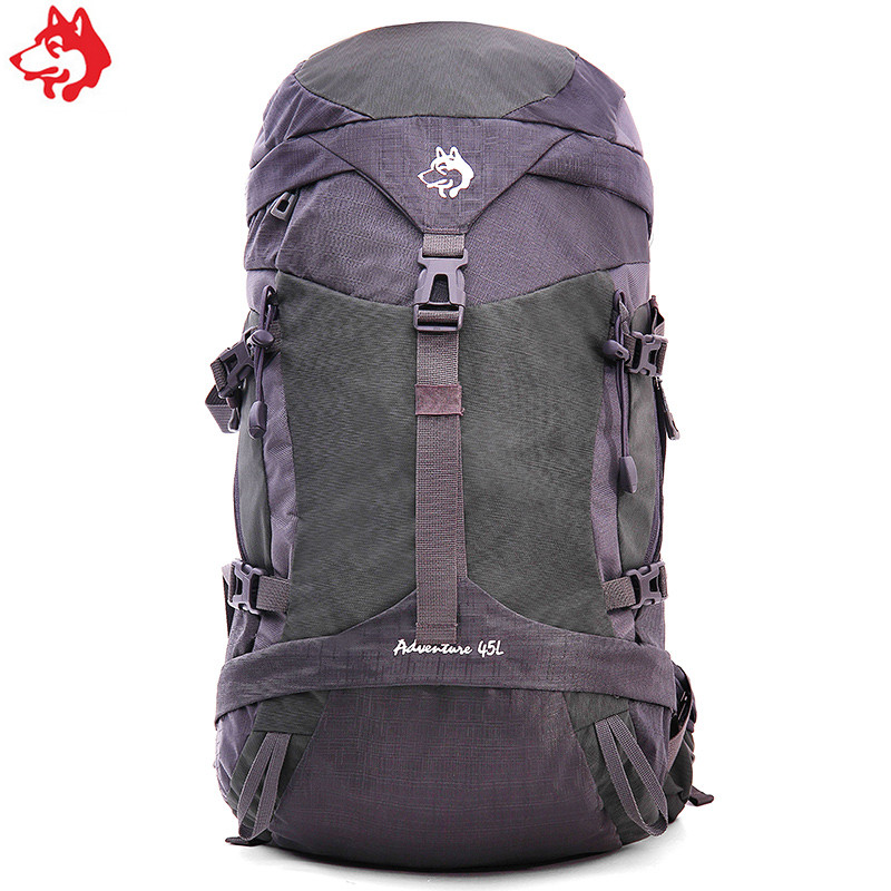 Camping & Hiking 45l Large Capacity Waterproof Climbing Hiking Tactical Backpack Bag Adults Camping Mountaineering Outdoor Nylon Shoulder Bags Comfortable And Easy To Wear