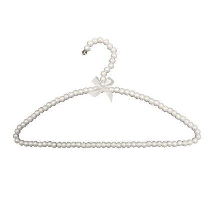 Sainwin 5ks / lot 38cm Dámské plastové ramínka bílá černá růžová věšák na věšáky obloukové věšáky na šaty šaty kolíčky
