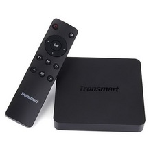 100% Tronsmart Vega S95 Pro Android Smart TV Box Amlogic S905 Quad Core 2.0GHz 1G/8G WiFi H.265 4K2K UHD 4K HEVC 3D XBMC IPTV