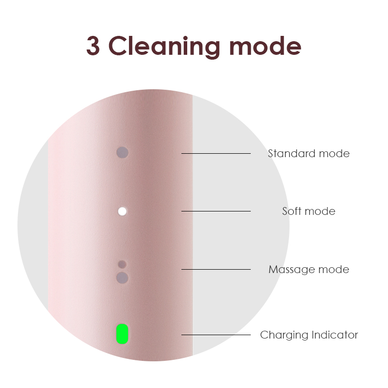 SOOCAS SO WHITE PINJING EX3 Sonic Electric Toothbrush Ultrasonic Automatic Smart Tooth Brush Wireless Rechargeable Waterproof 2