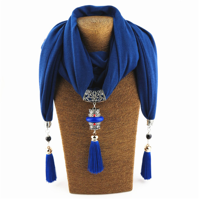 Women's Nepal Queen Necklace Scarf 3
