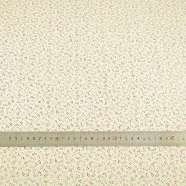 Patchwork światła żółty 100% bawełna tkaniny do szycia drukowane kwiaty wzory dekoracji Tecido Scrapbooking zwykły Fat Quarter tkaniny