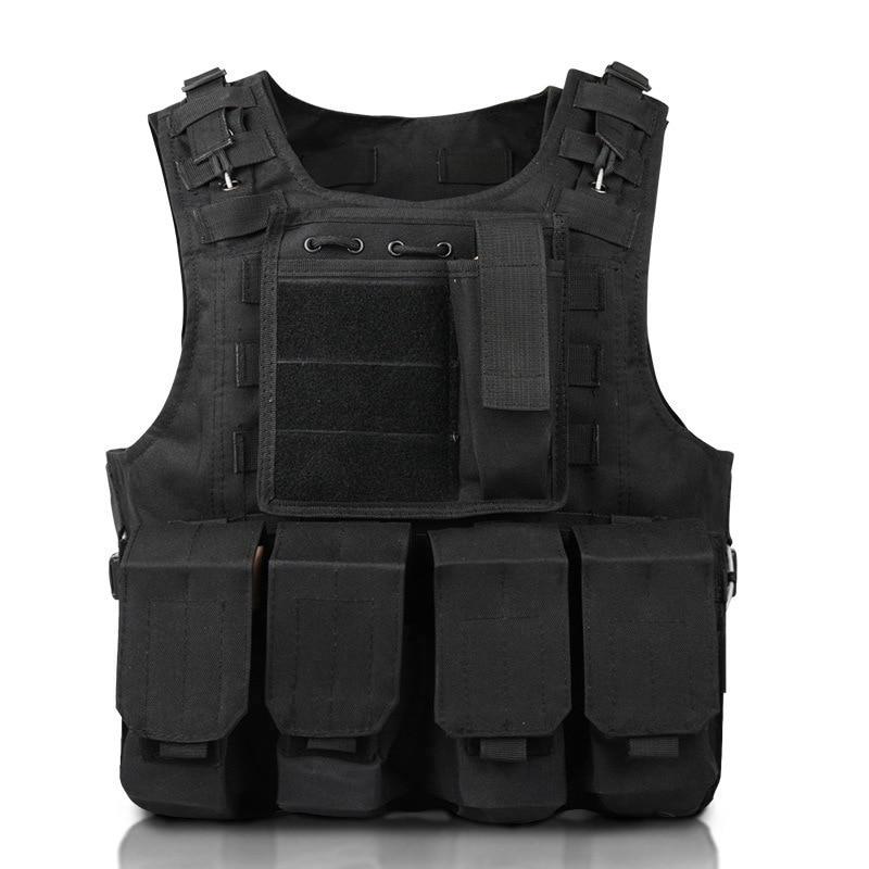 Gilet tactique militaire CS vêtements de plein air gilet de chasse multi-fonctionnel léger matériel de défense militaire