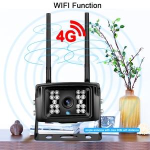 Image 3 - BESDER 1080P 960P 720P 4G כרטיס ה SIM Wifi Ip מצלמה 840nm Invisible IR LED מיני Wirelss אבטחה חיצוני מקורה Wifi מצלמה Ip 4G