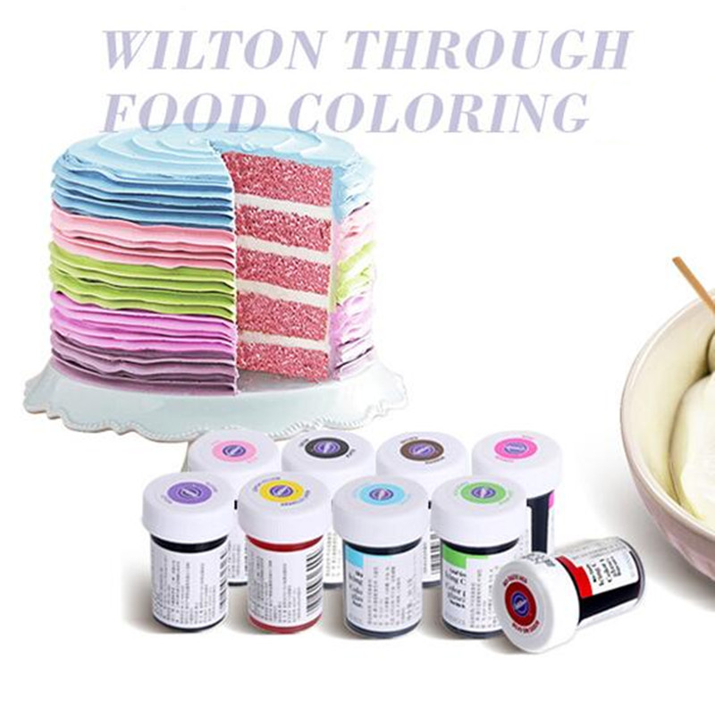 wilton icing colors colorantes para glaseado fondant pigment color food coloring 28g colorful gel macaron natural - Colorant Wilton